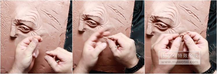 和大师学习如何雕刻伤口