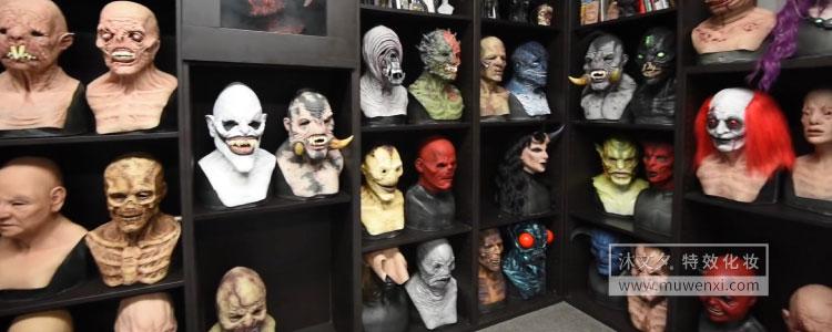 如何为好莱坞制作逼真的特效面具