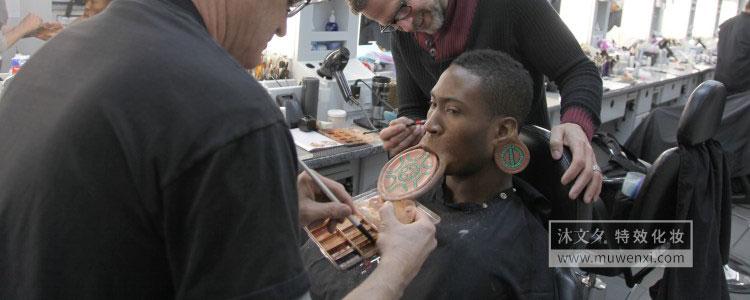 《黑豹》中迈克尔·b·乔丹特效化妆解析